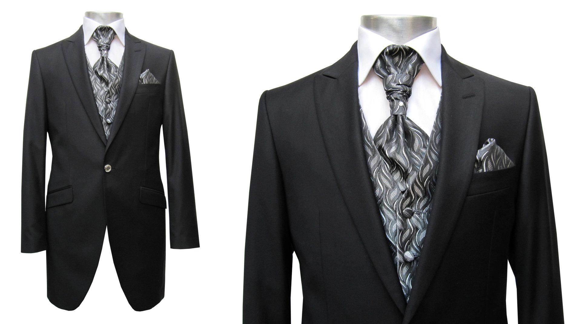 cutaway herren anzug hochzeit herrenausstatter aziko k ln. Black Bedroom Furniture Sets. Home Design Ideas