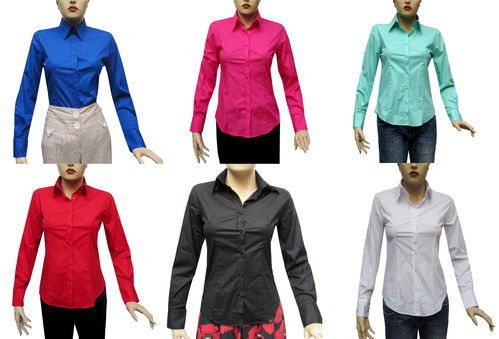 Slim-fit Damen Bluse*103*