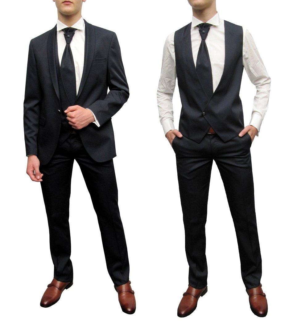 Festliche Herren Anzug Slim-fit - Herrenausstatter aziko Köln