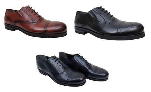783dd041fcd9cc Mens Shoes Elegant Budapester - Herrenausstatter aziko