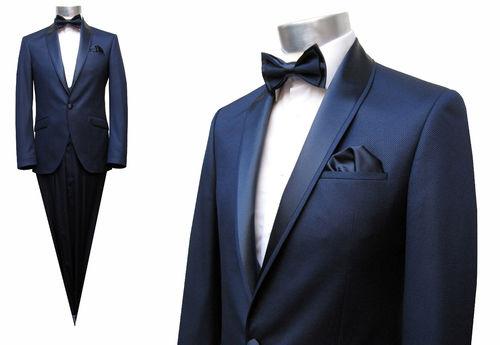5 Teilige Herren Anzug Dunkelblau Fashion Menswear Aziko